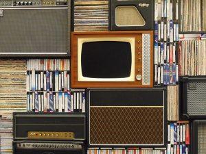 テレビとテープ