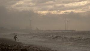 台風と海岸