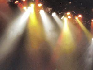 ステージライト白黄