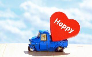 幸せを運ぶ車