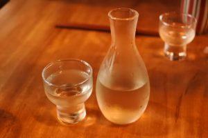日本酒冷徳利とお猪口