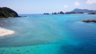 阿嘉島の浜