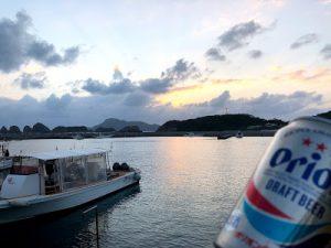 夕焼けビール2019