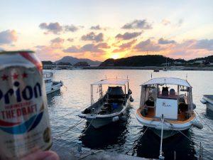 夕焼けビール
