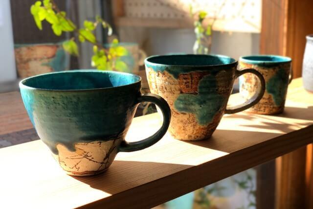 糸島ここのきコーヒーカップ