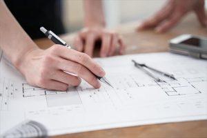 建築設計図
