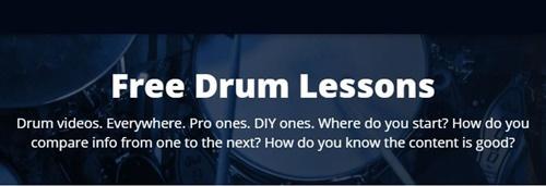 Drumeo Free Drum Lessons